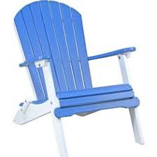 recycled plastic adirondack chairs. LuxCraft Folding Recycled Plastic Adirondack Chair Chairs