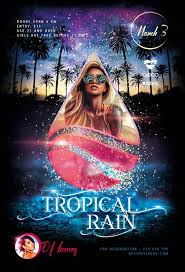 Flyer Poster Templates Tropical Rain Free Psd Poster Template Download Free