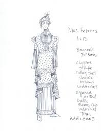 Mary Poppins Musical Costume Design Sense And Sensibility The Musical Jane Austens World
