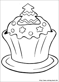 Small Picture Christmas Cupcake Coloring PagesCupcakePrintable Coloring Pages