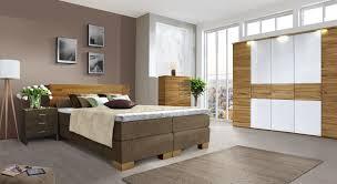 Schlafzimmer Aus Kernbuche Mit Boxspringbett Salvatore