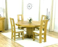 round oak dining table and 4 chairs modest design solid royal t round oak dining table and 4 chairs