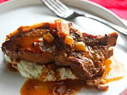 CiderBraised CountryStyle Pork Ribs With Creamy Mashed Potatoes Pork Shoulder Country Style Ribs Grill