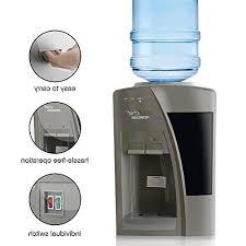 nutrichef countertop water dispenser cold water pktw20sl