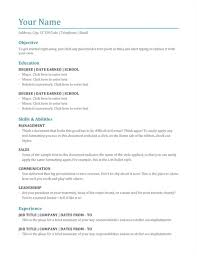 Awesome Resume To Start Again Photos - Simple resume Office .
