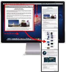 Screen Capture Mac How To Screen Capture A Scrolling Window In Safari In Mac Os
