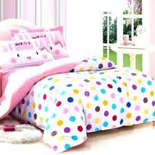 polka dots bedding set dot sets quality hippie colorful kids on bed queen comforter cot sheets polka dotted comforter