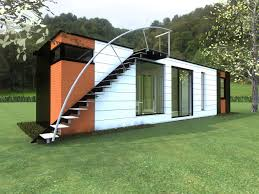 Cargo Home Concept For An Interesting And Colorful Container Home