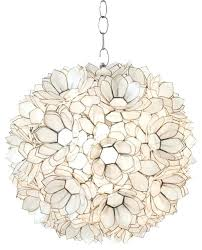 shell pendant light popular of shell pendant light worlds away worlds away shell lotus pendant x