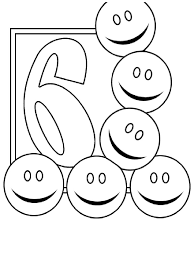 Small Picture Coloring In Numbers With Number 6 Coloring Page Coloring Sheet