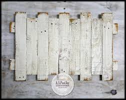 pallet wall art rustic home decor pallet sign distressed white pallet wood sign farmhouse decor shabby chic barnwood wall hanging on distressed white wood wall art with rustic pallet wall art pallet sign rustic home decor pallet
