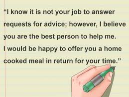 ways to write a letter asking for advice wikihow