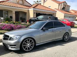 Condition review and specification overview video for our 2013 mercedes c250 amg sport plus in metallic silver with a panoramic sunrooffor more details. Wheel Offset 2013 Mercedes Benz C250 Flush Stock Fitment Industries