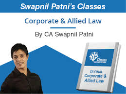 Ca Final Corporate Allied Law Charts Ppt Books By Ca