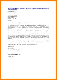 Bank Confirmation Letter Sample 12 Format Famous Nor 10 Emmabender