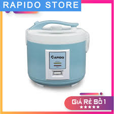 Giá bán Nồi cơm điện Rapido RC-1.5M điều khiển cơ, mặt kính trong suốt  (1.5L - 500W - Hàng chính hãng)