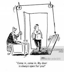 open door policy cartoon 13 of 18