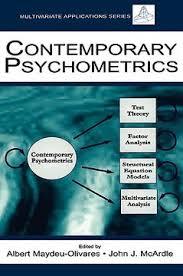 Libro contemporary psychometrics: a festschrift for roderick p. mcdonald,  maydeu-olivares, alberto, ISBN 9780805846089. Comprar en Buscalibre