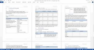 Data Model Design Document Template 60 X Software Development Lifecycle Templates Ms Word Excel