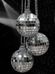 Mini Disco Ball Decorations So cheesy but I thought it was cute Mini disco balls Sparkle 4