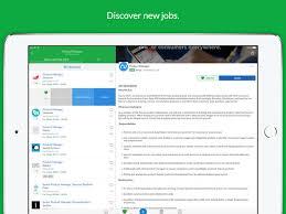glassdoor job search on the app