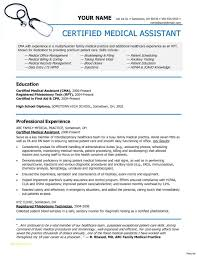 Medical Assistant Objective Resume Best Of Resume Templates Medical Assistant And Medical Billing Resumes