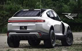 E-SUV von Rivian im Rallye-Raid-Style ...