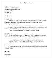 letter of appeal appeal letter templates 11 free word pdf documents download