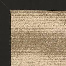creative concepts indoor outdoor rug canvas black