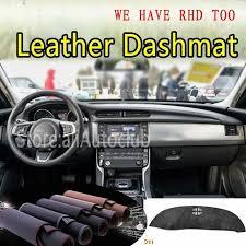 for jaguar xf x260 2016 2017 2018 2019 leather dashmat dashboard cover dash sunshade carpet custom car styling lhd rhd ping arc6