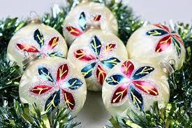 Vintage Christmas Baubles Christmas Tree Decorations Xmas
