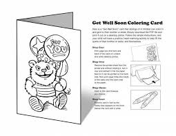 Get Well Soon Cards Printables Get Well Soon Coloring Pages Awesome Free Printable Get Well Soon