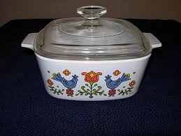 corning ware country festival 1 1 2 qt square casserole a 1 1