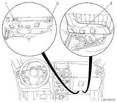 Vauxhall workshop manuals > corsa d > c body equipment > seats corsa d 672 replace instrument panel padding plete opel corsa d fuse box