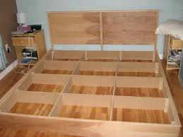 diy king platform bed frame. Image Of: Queen Bed Frame Plans Diy King Platform