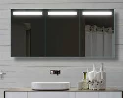 Badkamer Spiegelkast Lamp Luxe 150 Cm Brede Badkamer Spiegelkast Met