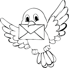 Bird Coloring Pages For Preschoolers Cardinal Coloring Pages St