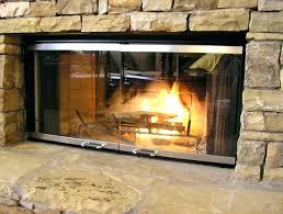 replacing fireplace glass replace replace insert
