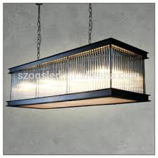 modern black iron rectangle glass chandelier crystal for hotel rectangular clarissa drop rectangular glass chandelier
