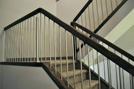 metal stair handrail. Plain Metal Stair Rails Black Metal Railing Unbelievable Interactive Picture Of Home  Interior Design Using Ideas And Cable Intended Metal Stair Handrail