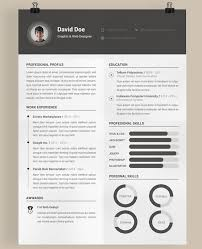 free resume template design 40 best 2018s creative resume cv templates printable doc