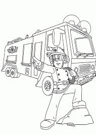Free Printable Fire Truck Coloring Pages Firetruck For Kids 1483