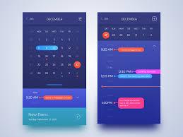 Calendar Interface Design Pin On Design