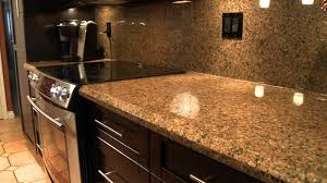 Granite Countertops In Kitchens Golden Leaf Granite Installed Design Photos And Reviews Granix Inc