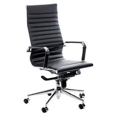 Black leather office chair Desk Share This Product By Email Swale High Back Black Leather Office Chair Key Industrial Swale High Back Black Leather Office Chair Key