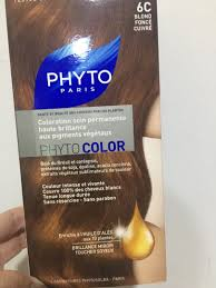 phyto hair colour 6c health beauty care on carousell