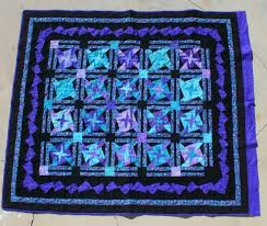 Turquoise & Purple Quilt » Custom Made Quilts » Hawaiian Shirt ... & (Product ID: quilt 839) Adamdwight.com