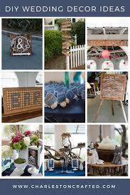 9 diy wedding decor ideas via charleston crafted