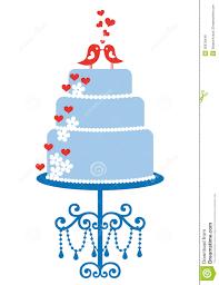 blue wedding cake clipart. Exellent Wedding With Blue Wedding Cake Clipart A