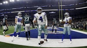 Dallas Cowboys At T Stadium Seating Chart Sunday Night Football Ratings Surge With Cowboys Big Win